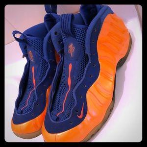 "Nike foamposite ""New York Knick's"" colorway"